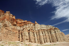 Eroded Rock Formation Stock Photography