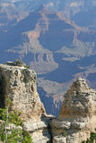 Eroded Rock Formations of the Grand Canyon Stock Photos
