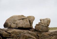 Eroded rock Stock Image