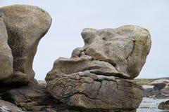 Eroded rock Royalty Free Stock Image