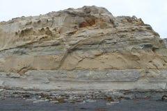Eroded Rock at Torrey Pines State Park Royalty Free Stock Image