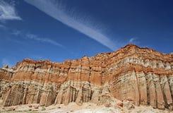 Eroded Rock Vista Stock Photo