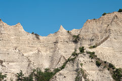 Eroded Sandstone At Melnik Stock Photo