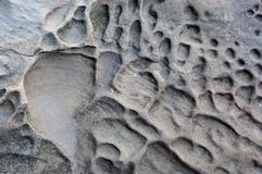Eroded Sandstone Texture Royalty Free Stock Photos