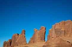 Eroded Sandstone Wall Royalty Free Stock Photo