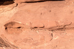 Eroded sandstone Royalty Free Stock Images