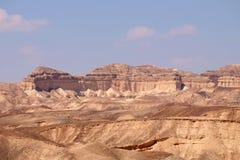 Negev desert scenic landscape. Royalty Free Stock Photos