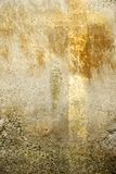 Eroded sea wall background 01. Concrete wall eroded by the sea and elements royalty free stock image