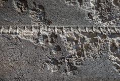 Eroded Stone Wall Royalty Free Stock Photo