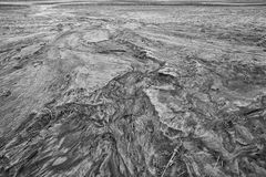 Eroded topsoil Stock Images