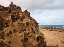 Eroded  west coast of Fuerteventura Stock Image