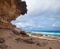 Eroded  west coast of Fuerteventura Stock Images