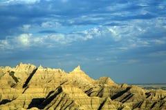 Erodera maxima på Badlands nationalpark, South Dakota arkivbilder