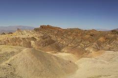 Eroderad kantDeath Valley nationalpark Royaltyfri Bild