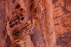 Eroderad stenbakgrund Arkivfoto