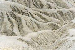 Eroderade backar av den Fortuna öknen i Spanien royaltyfria bilder