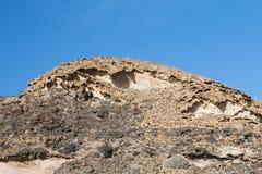 Eroding Rocks, Fuerteventura Royalty Free Stock Image