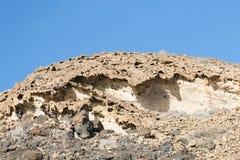 Eroding Rocks, Fuerteventura Royalty Free Stock Photos