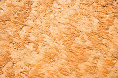 Eroding sandstone wall Royalty Free Stock Photo