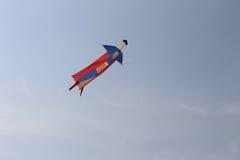 Eroe in cielo Fotografia Stock Libera da Diritti