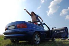 Eroe del Cabriolet Fotografie Stock