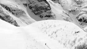 Eroe della neve Immagine Stock