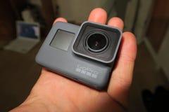 Eroe 5 di GoPro fotografia stock libera da diritti