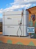 Erogatore del combustibile dell'idrogeno Fotografia Stock Libera da Diritti