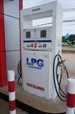 Erogatore del gas di GPL Fotografia Stock Libera da Diritti