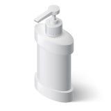Erogatore del sapone liquido Fotografia Stock