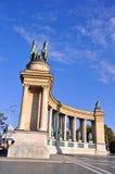 Eroi Budapest quadrata, Ungheria Fotografie Stock Libere da Diritti
