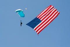 Eroi show aereo Los Angeles 29 giugno 2013 americano Immagini Stock Libere da Diritti