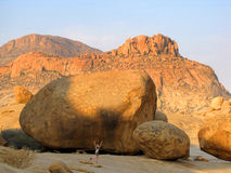 Erongo Mountains Stock Image