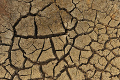 Erosão 1 do terreno Imagens de Stock