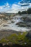 Erosão de terra Fotografia de Stock Royalty Free
