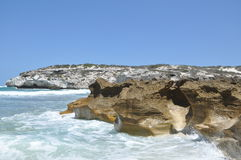 Erosão do mar Imagem de Stock Royalty Free
