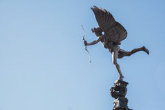 Eros Cupid statue London Royalty Free Stock Images