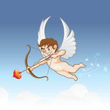 Eros e amor Fotografia de Stock Royalty Free