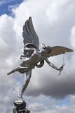 Eros love statue at Piccadilly Circus Royalty Free Stock Photo