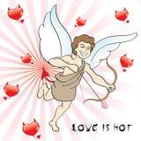 Eros mau ilustração royalty free