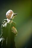 Eros Ramazotti perform on stage at Sportarena Royalty Free Stock Photography
