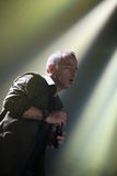 Eros Ramazotti perform on stage at Sportarena Stock Image