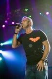 Eros Ramazotti perform on stage at Sportarena Stock Images