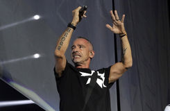 Eros ramazzotti,italy Royalty Free Stock Photos