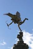 Eros statua Londyn Obrazy Stock