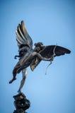 Eros statua przy Piccadilly cyrkiem obraz royalty free
