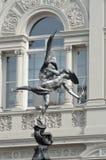 Eros statua z łukiem Zdjęcie Stock
