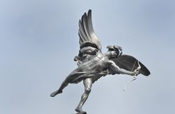 Eros statue with Blue Sky Royalty Free Stock Photography