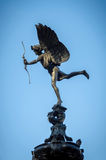 Eros Statue en el circo de Piccadilly Imágenes de archivo libres de regalías