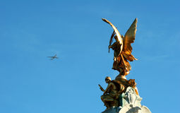 Eros statue in London Royalty Free Stock Image